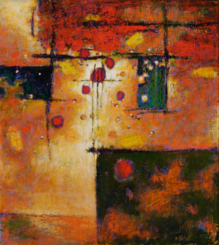 Inspiration   | oil on canvas | 36 x 32"