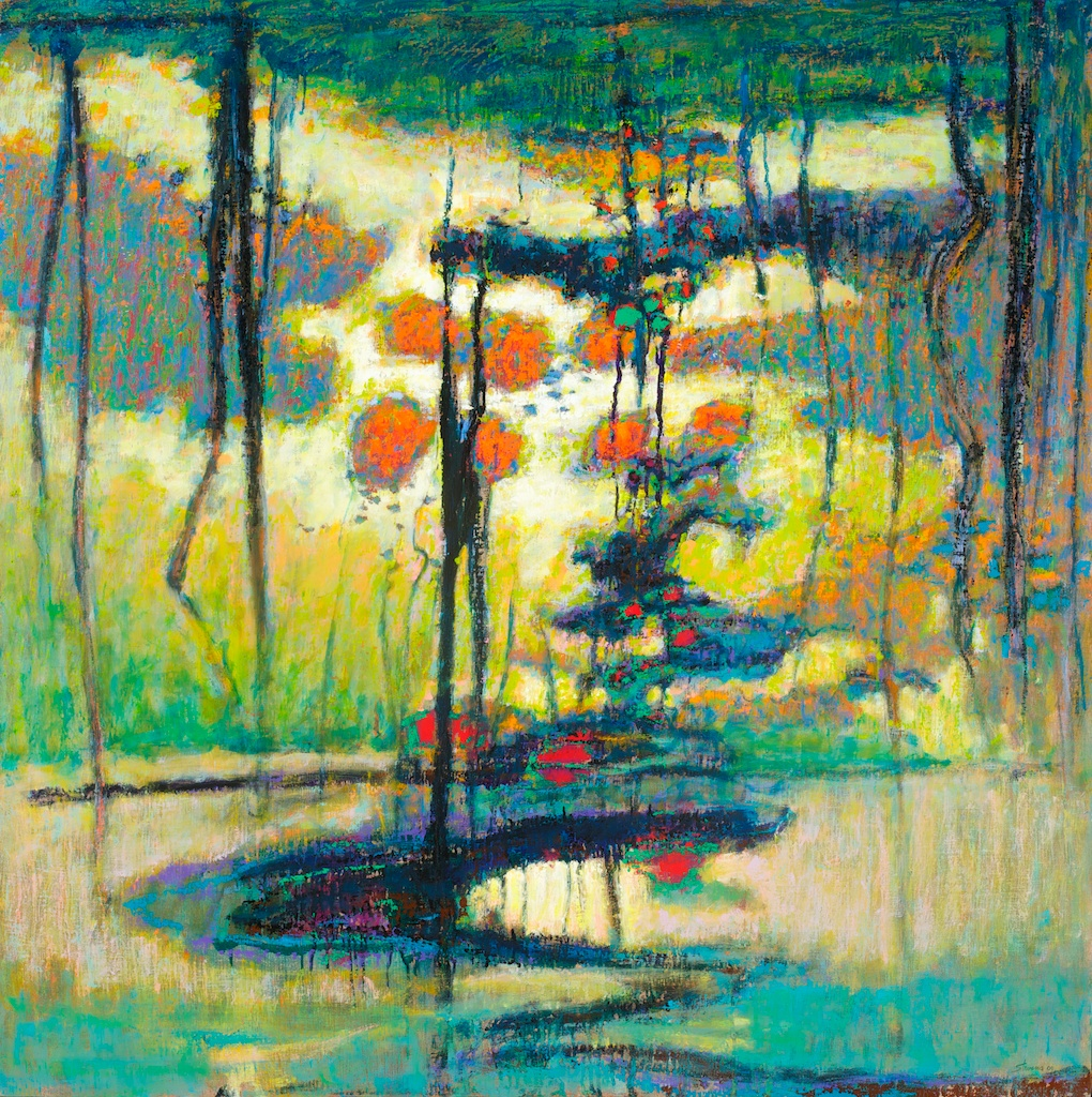 Revealing Deep Secrets | oil on linen | 48 x 48"