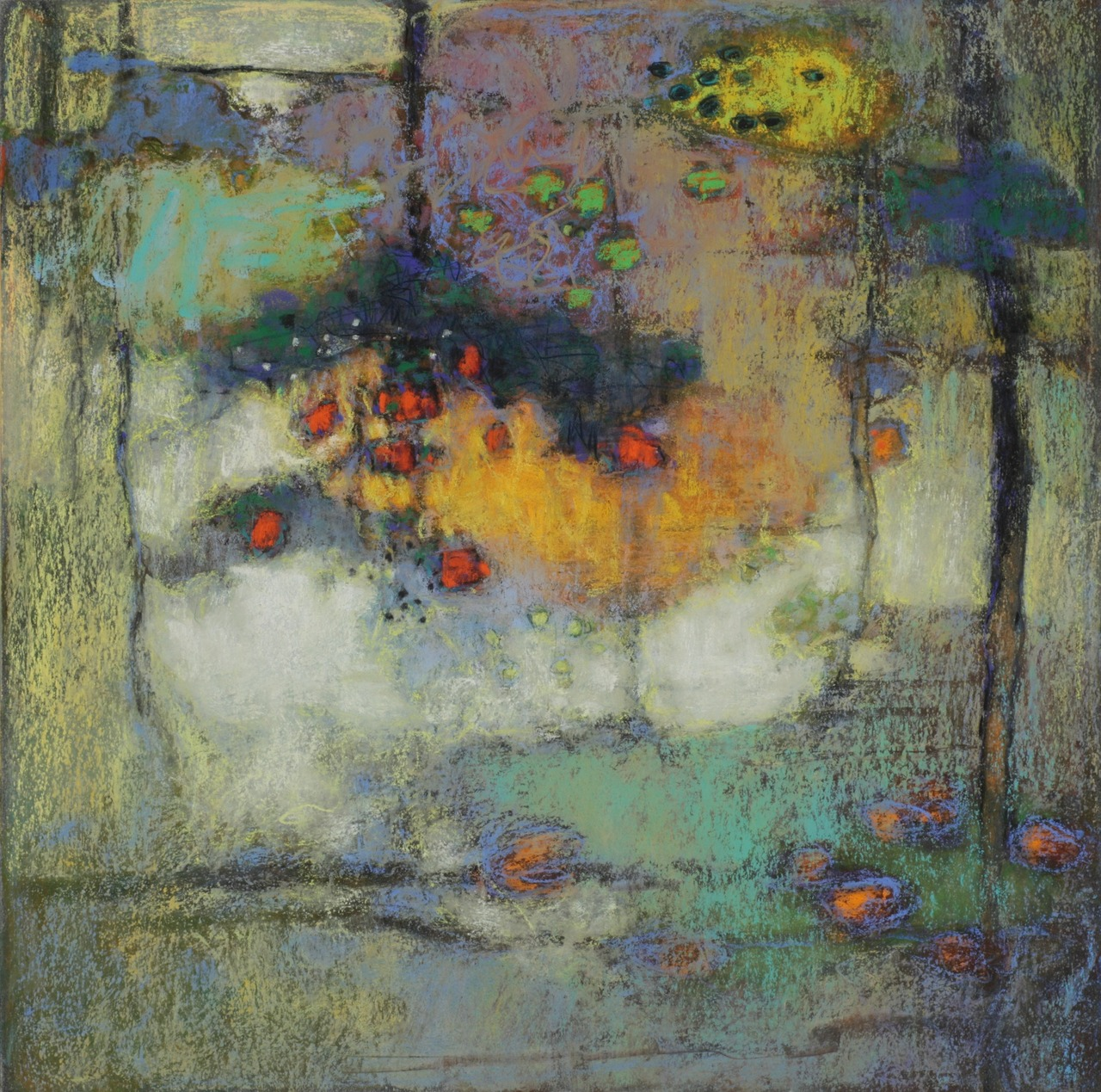 104-12 | pastel on paper | 14 x 14"