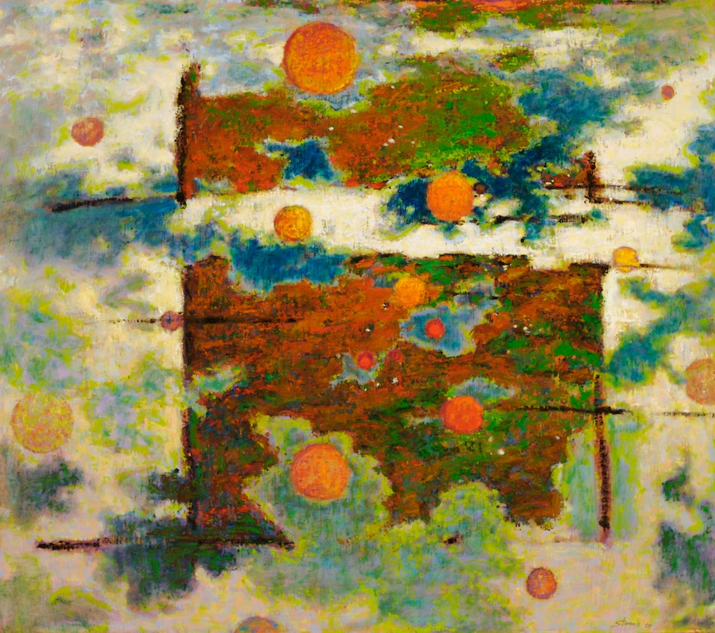 The Beyond   | oil on canvas | 32 x 36"