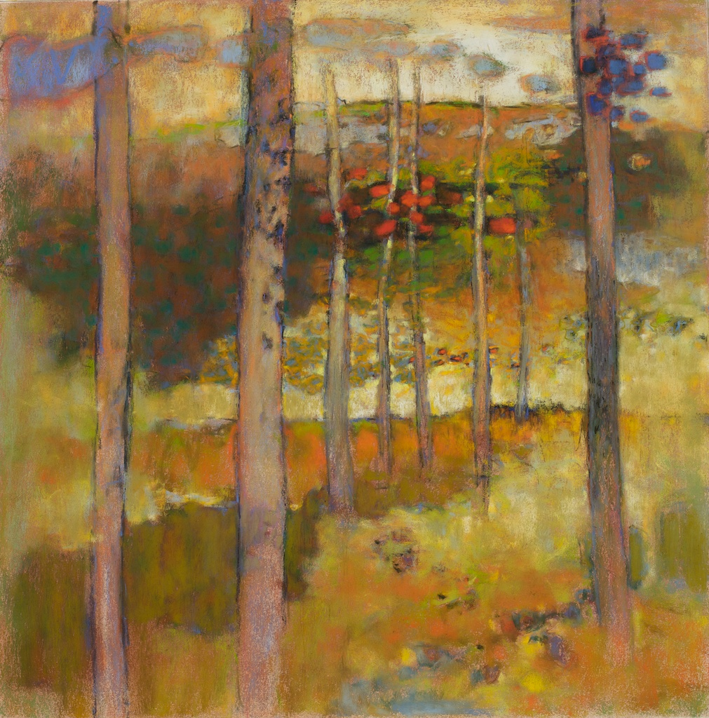 Going Inland   | pastel on paper | 26 x 26"