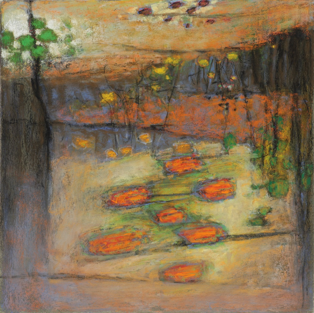 101-12 pastel on paper | 14 x 14"