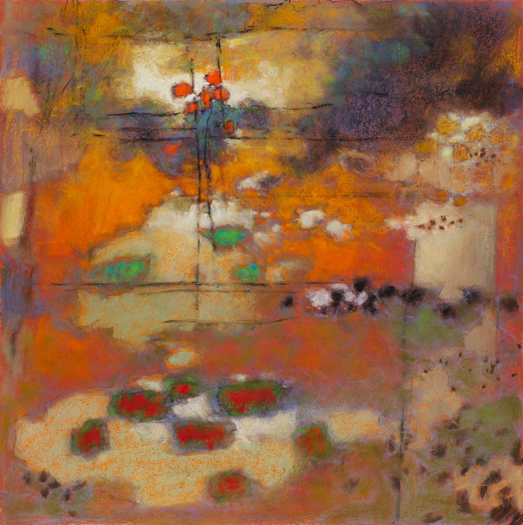 79-12 | pastel on paper | 14 x 14"