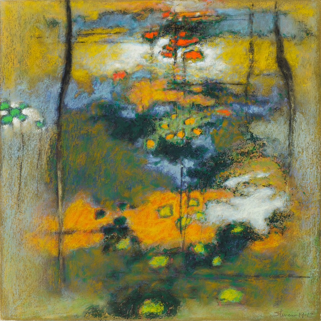 19-12 | pastel on paper | 14 x 14"