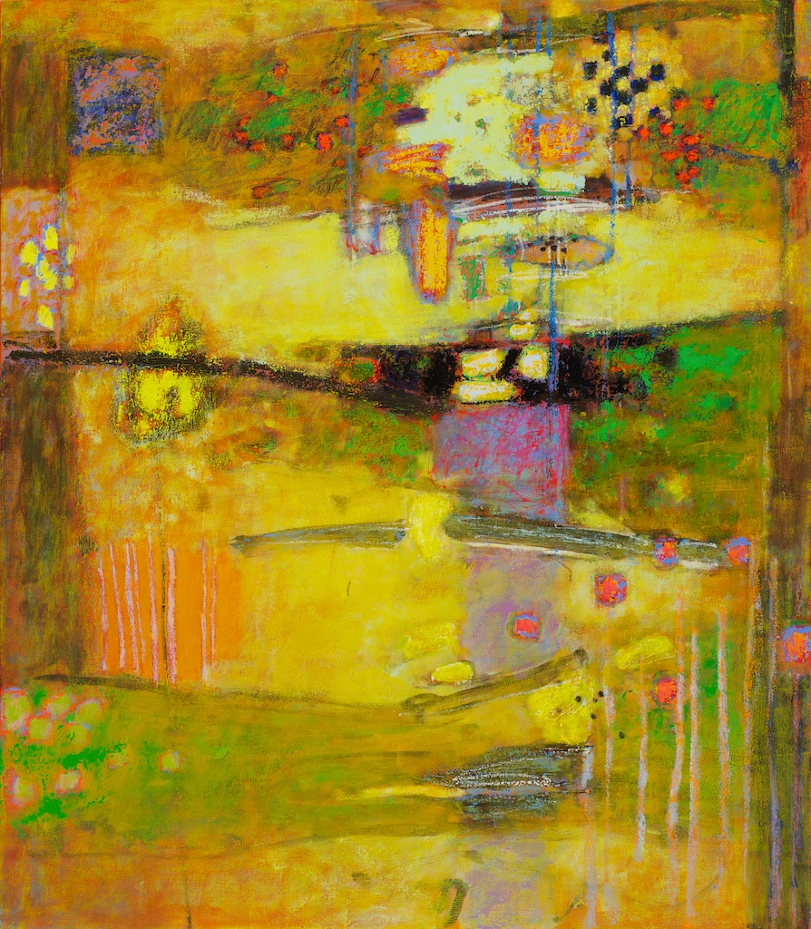 Abundance   | Rick Stevens |oil on Canvas | 55 x 48"