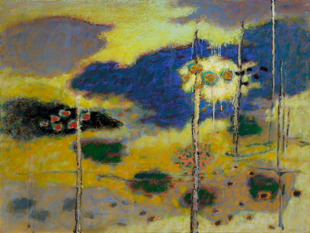 Buoyant Structure   | oil on canvas | 36 x 48"
