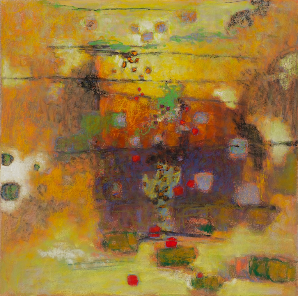 Untitled   | pastel on paper | 30 x 30"