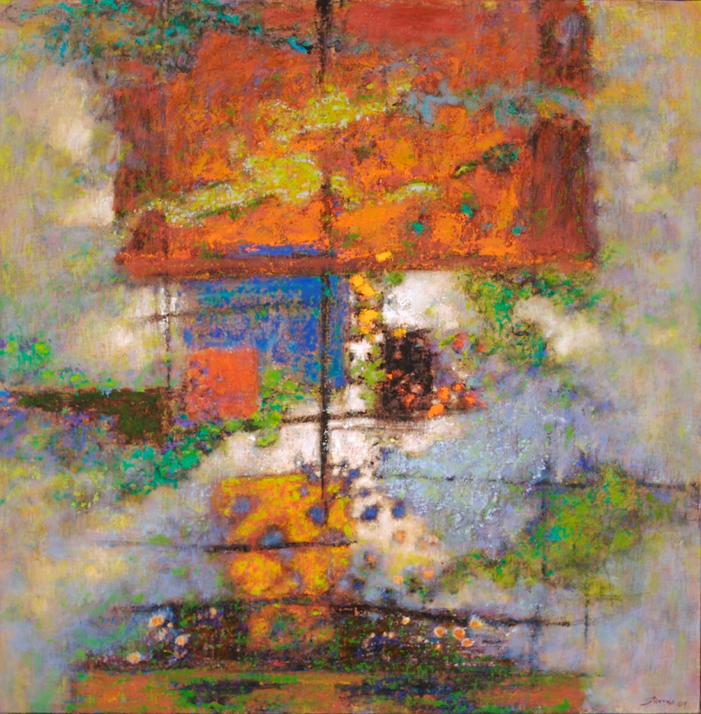 Consonance   | oil on linen | 30 x 30"