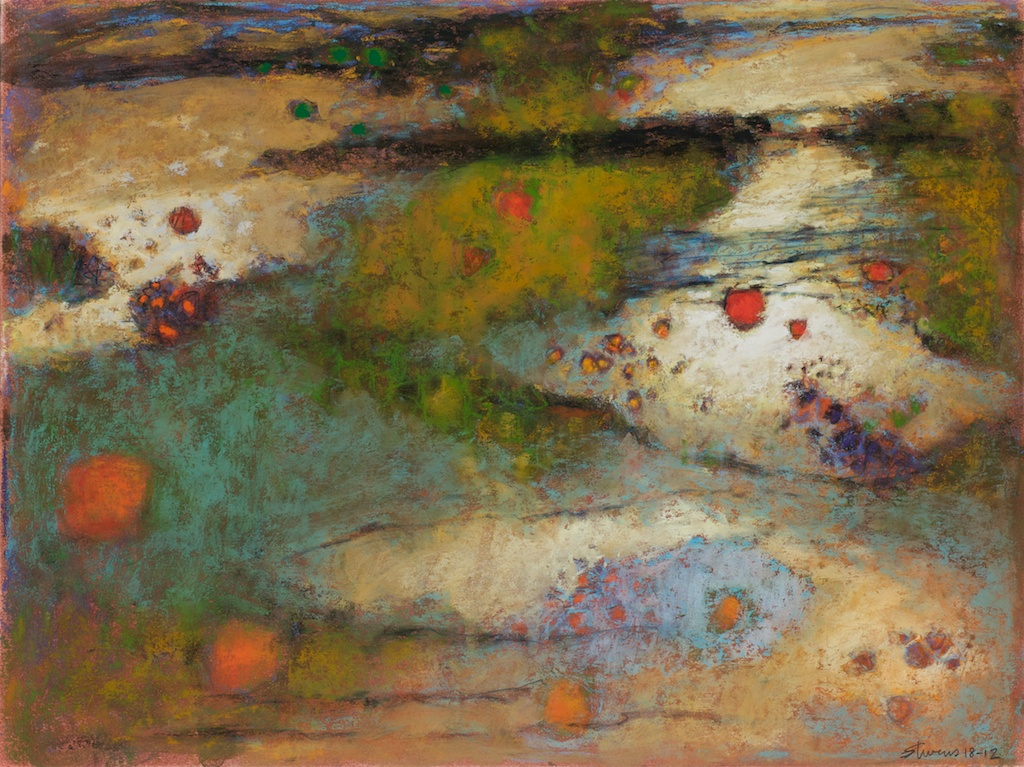 Untitled | pastel on paper | 12 x 16"