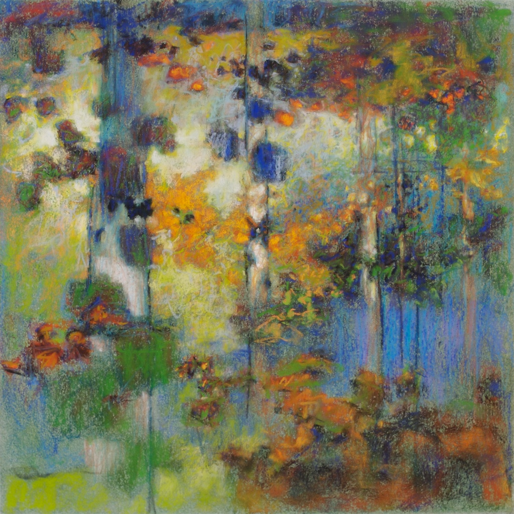 29-09 | pastel on paper | 14 x 14"