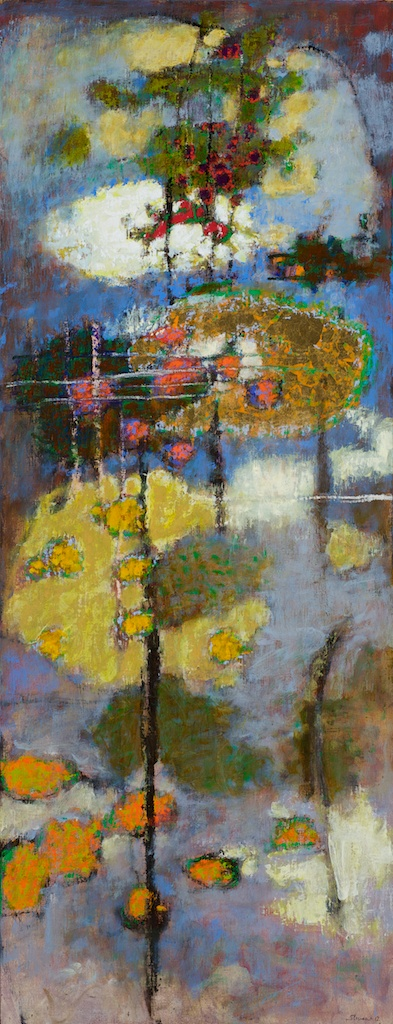 The Shifting Nature of Reality   | oil on linen | 48 x 19"
