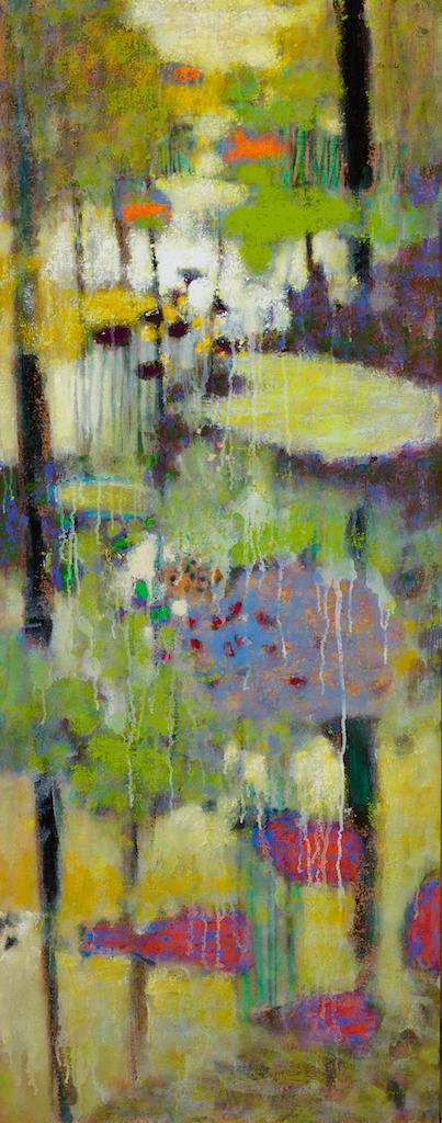 Lush Memory | oil on linen | 48 x 19"