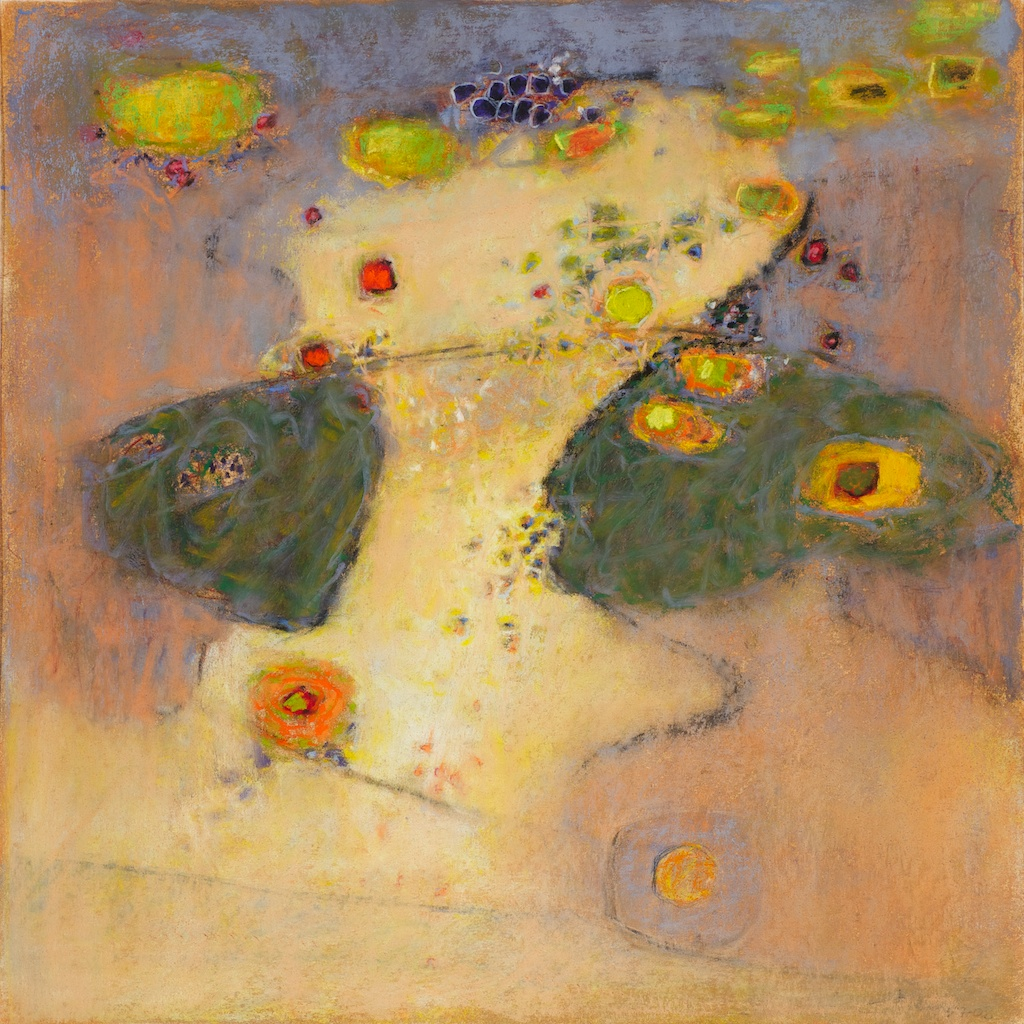 86-12 | pastel on paper | 14 x 14"