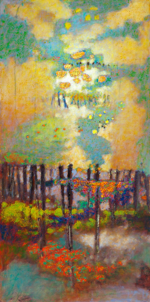 Life Manifests   | oil on canvas | 72 x 36"
