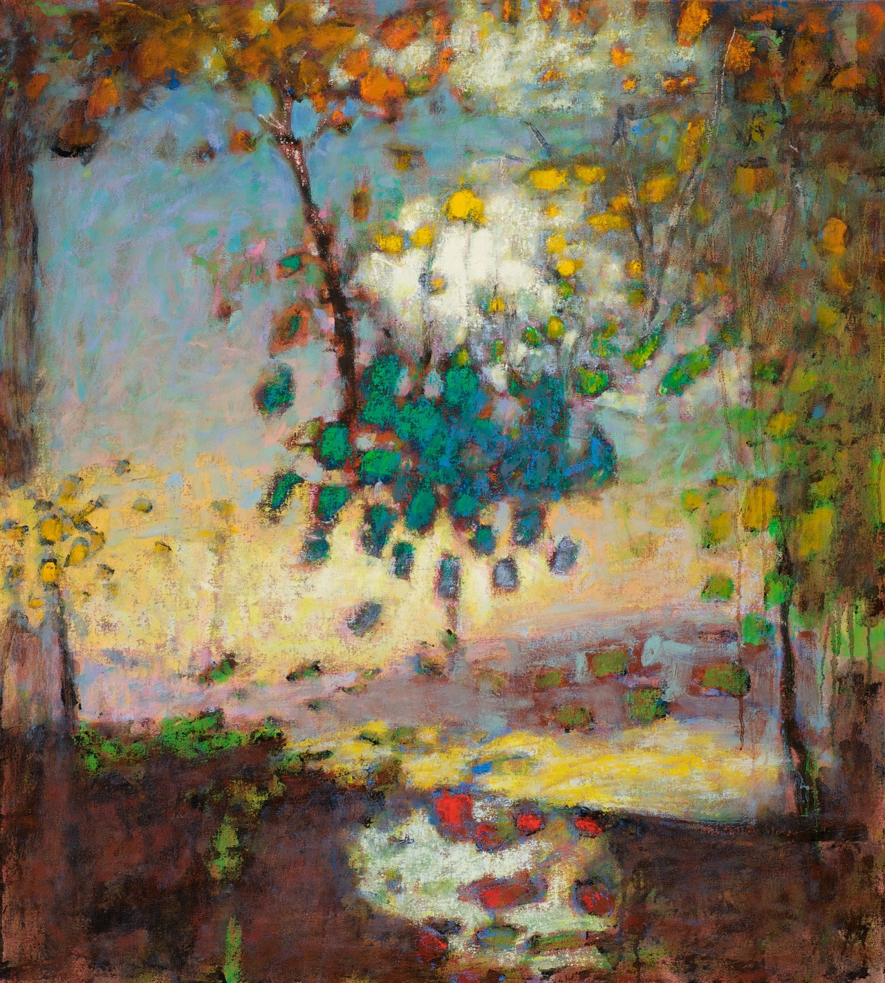The Breathing Of The World |  oil on Canvas | 40 x 36"