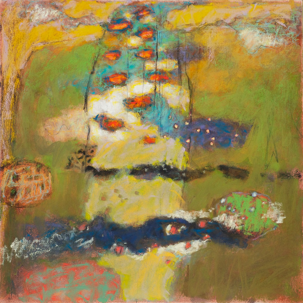 85-12 | pastel on paper | 14 x 14"