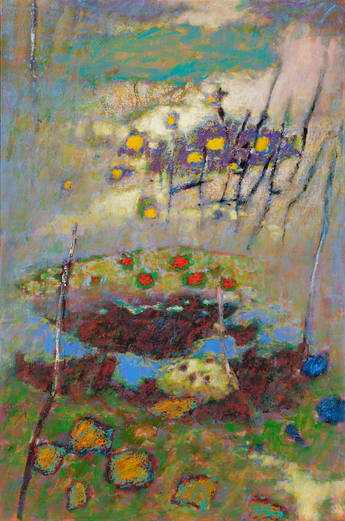 Everything Is Like a Dream | oil on canvas | 48 x 32"