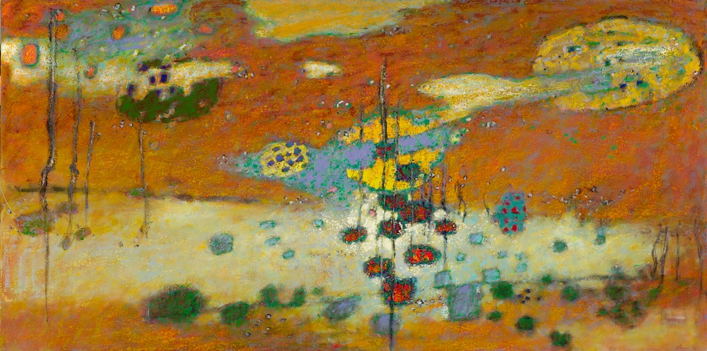 Sky Of Mind | oil on canvas | 36 x 72"
