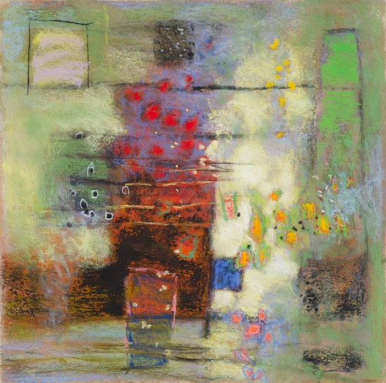 82-12 | pastel on paper | 14 x 14"