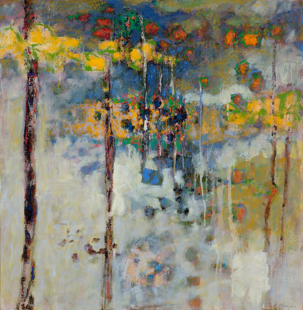 Living With Ghosts   | oil on canvas | 32 x 32"