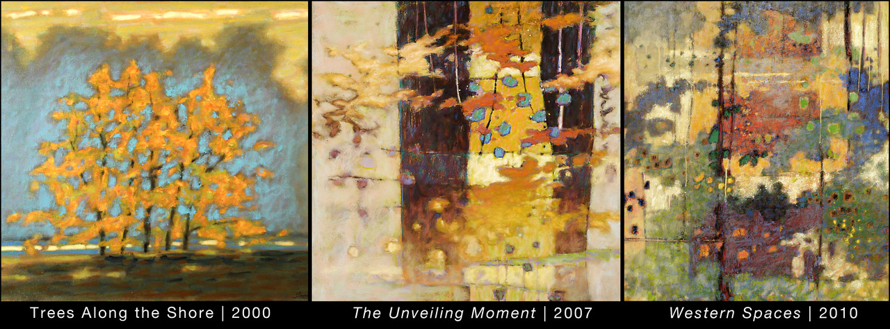 Series of Rick Stevens paintings from 2000-2010    more work