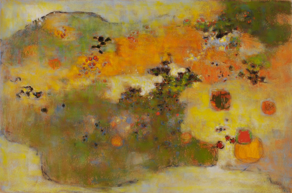 In The Key Of Earth   | pastel on paper | 20 x 30"