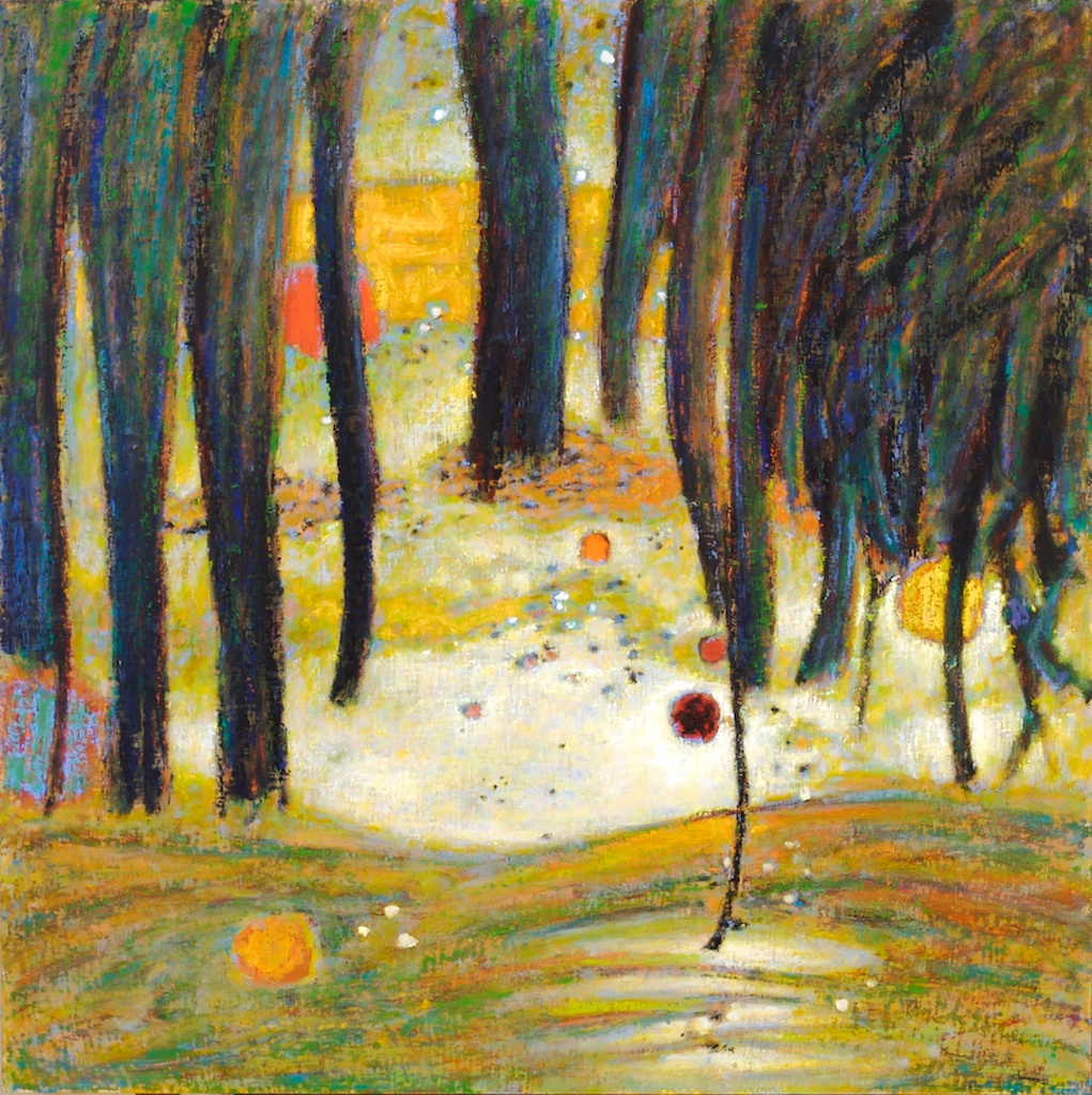 The Other Side Of The Night | oil on canvas | 48 x 48"