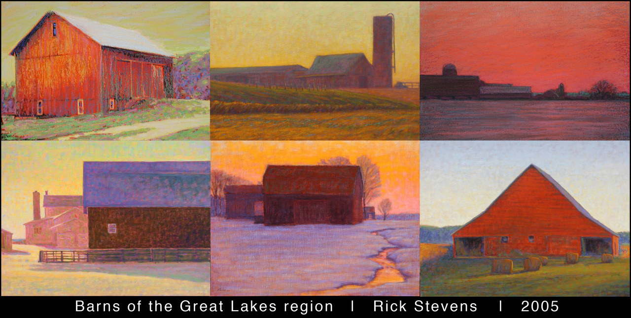 Barns of the Great Lakes Region | Rick Stevens | 2005  more 2005 artwork