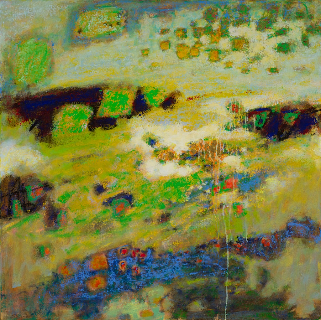 In Back of Beyond | oil on canvas | 30 x 30"