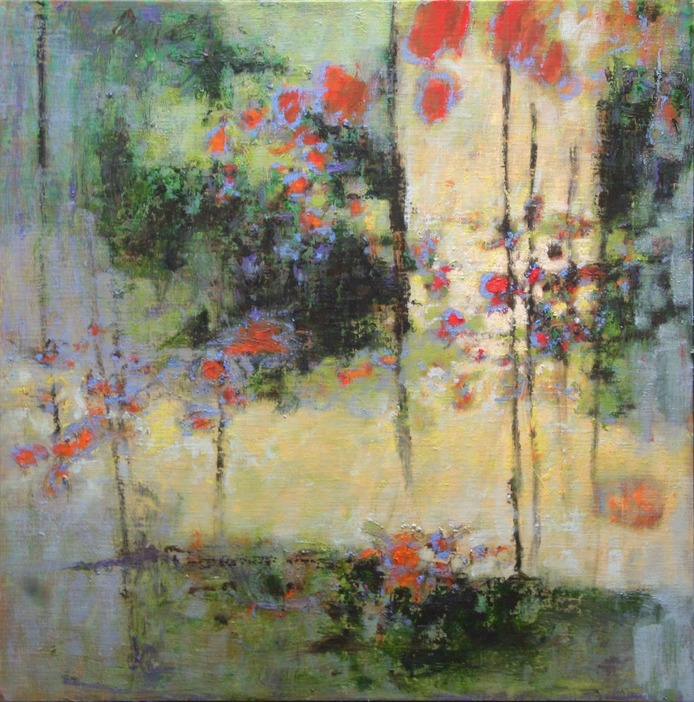 Harmonic Meeting | oil on canvas | 24 x 24"