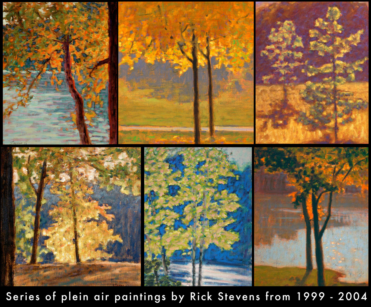 Series of Plein Air paintings from 1999-2004       more work here       More about Plein Air