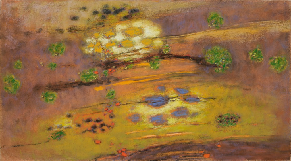Spirits Drifting | pastel on paper | 20 x 36"