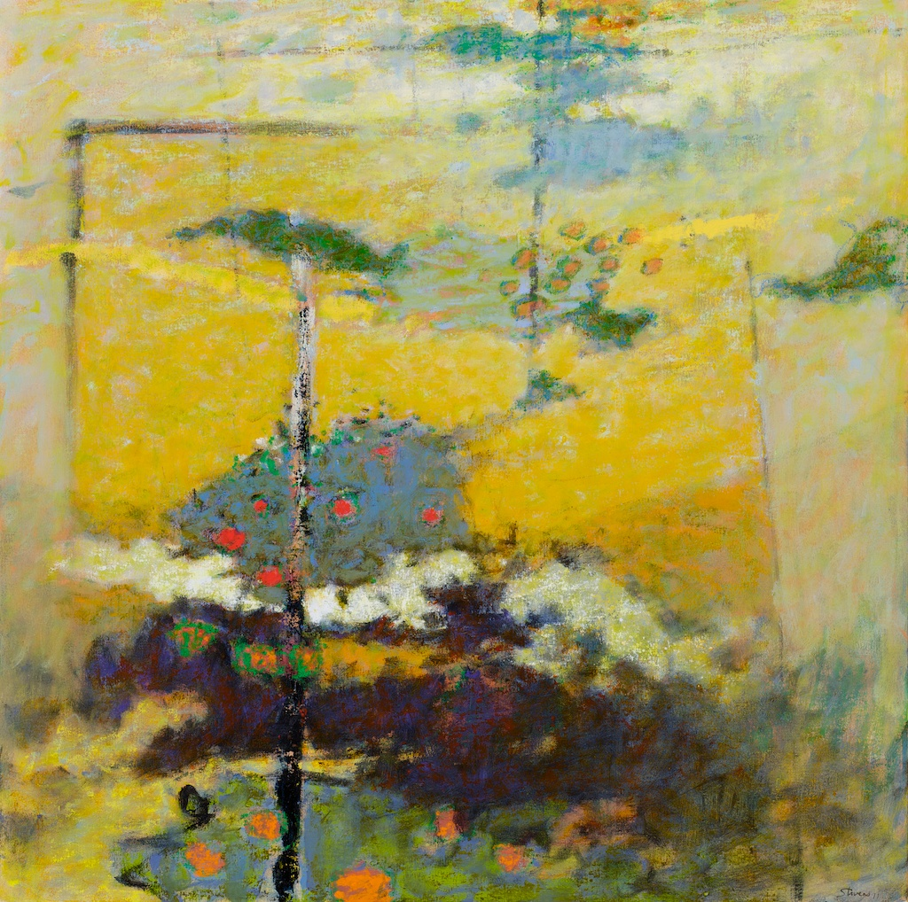 The Sky Below | oil on canvas | 36 x 36"