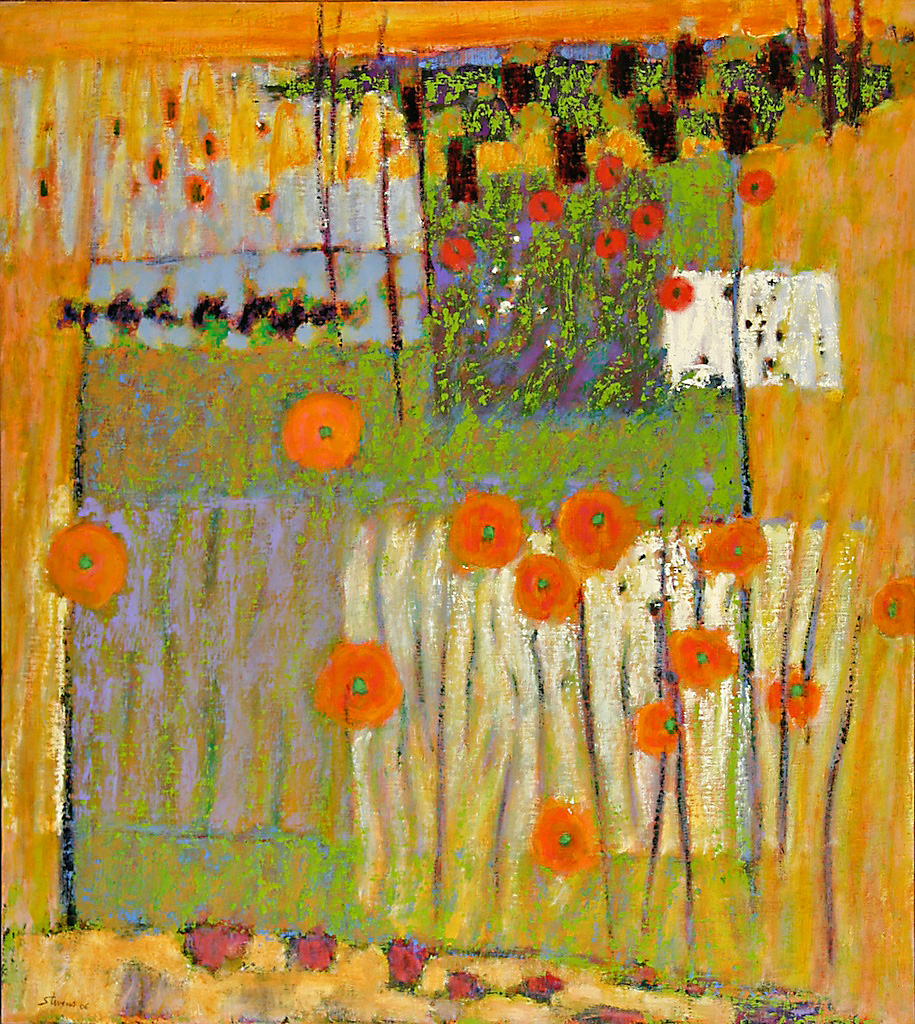 Fragrant Visions   | oil on linen | 40 x 36"
