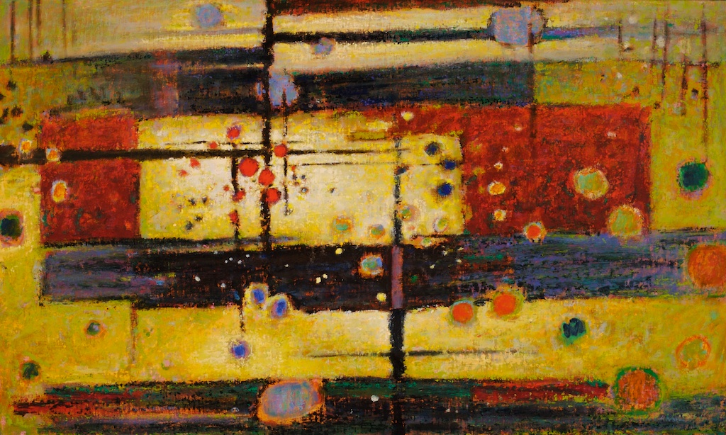 Networked   | oil on canvas | 30 x 50 | 2007   more 2007 works