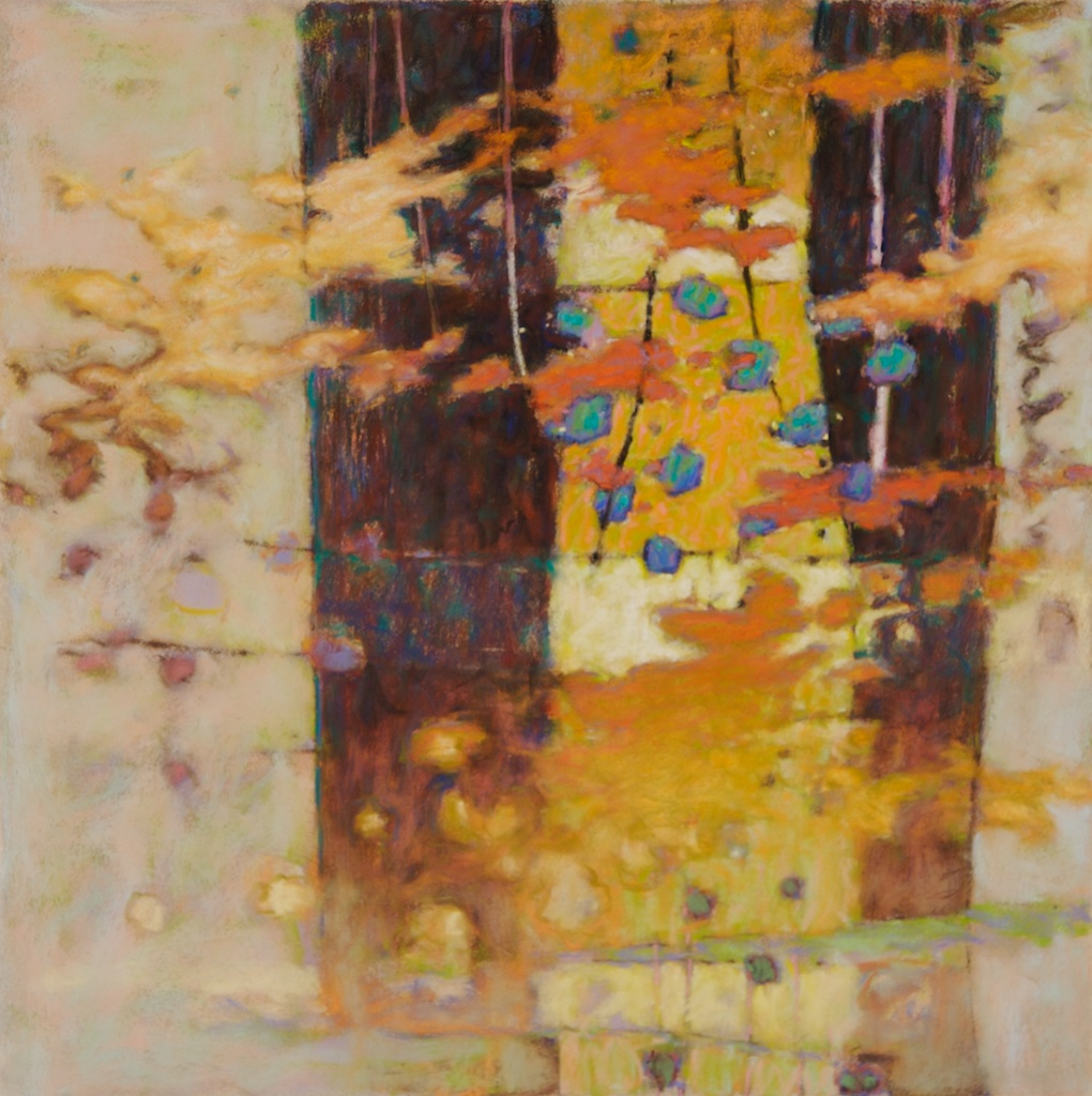 77-07 The Unveiling Moment | pastel on paper | 24 x 24"