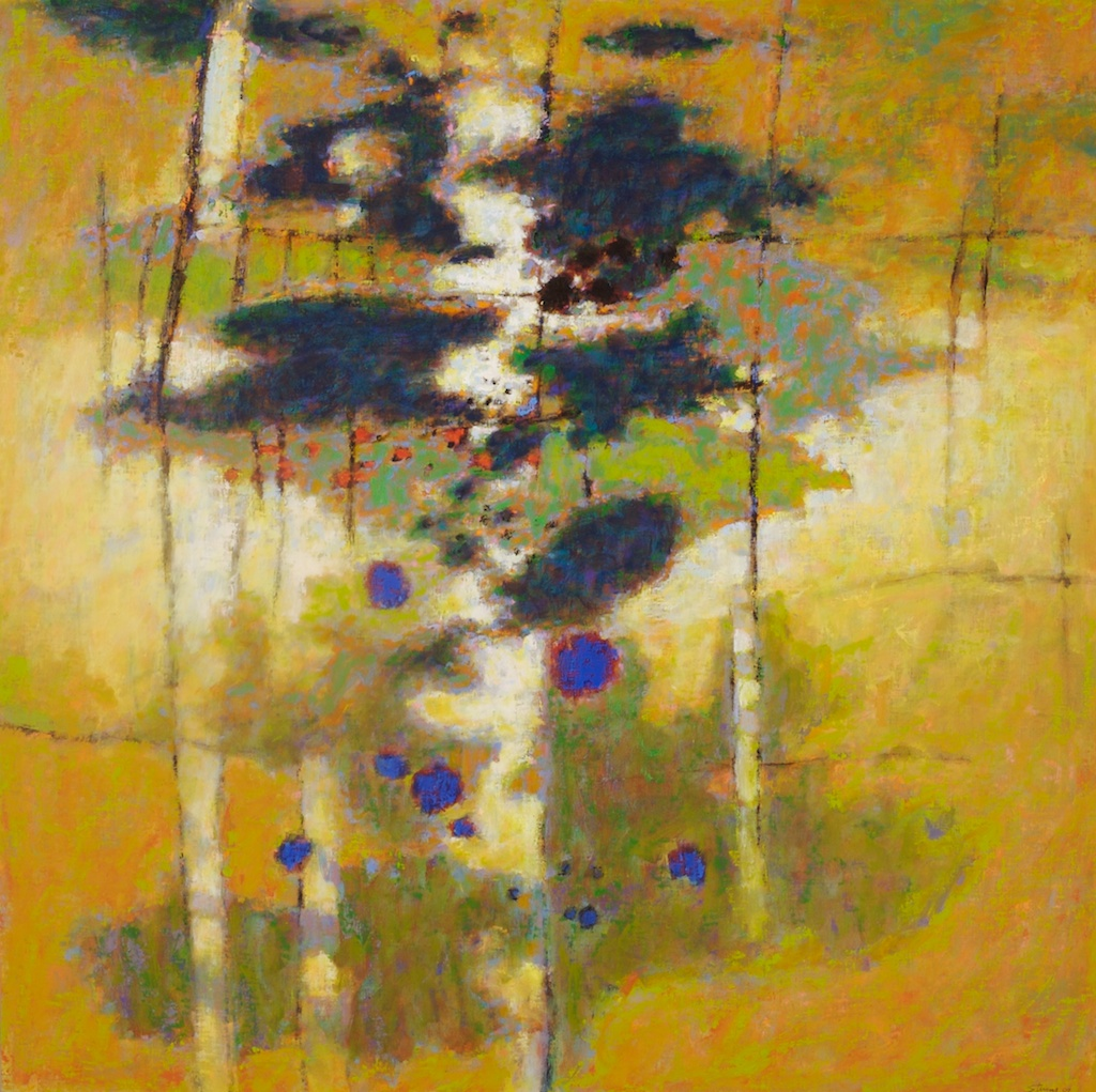 Leaving the Bonds of Earth | oil on linen | 48 x 48"