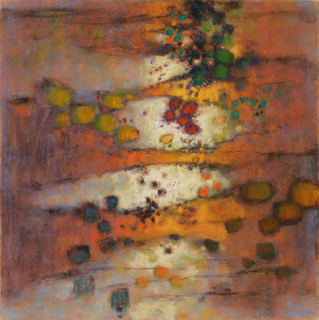 Down Deep | pastel on paper | 26 x 26"