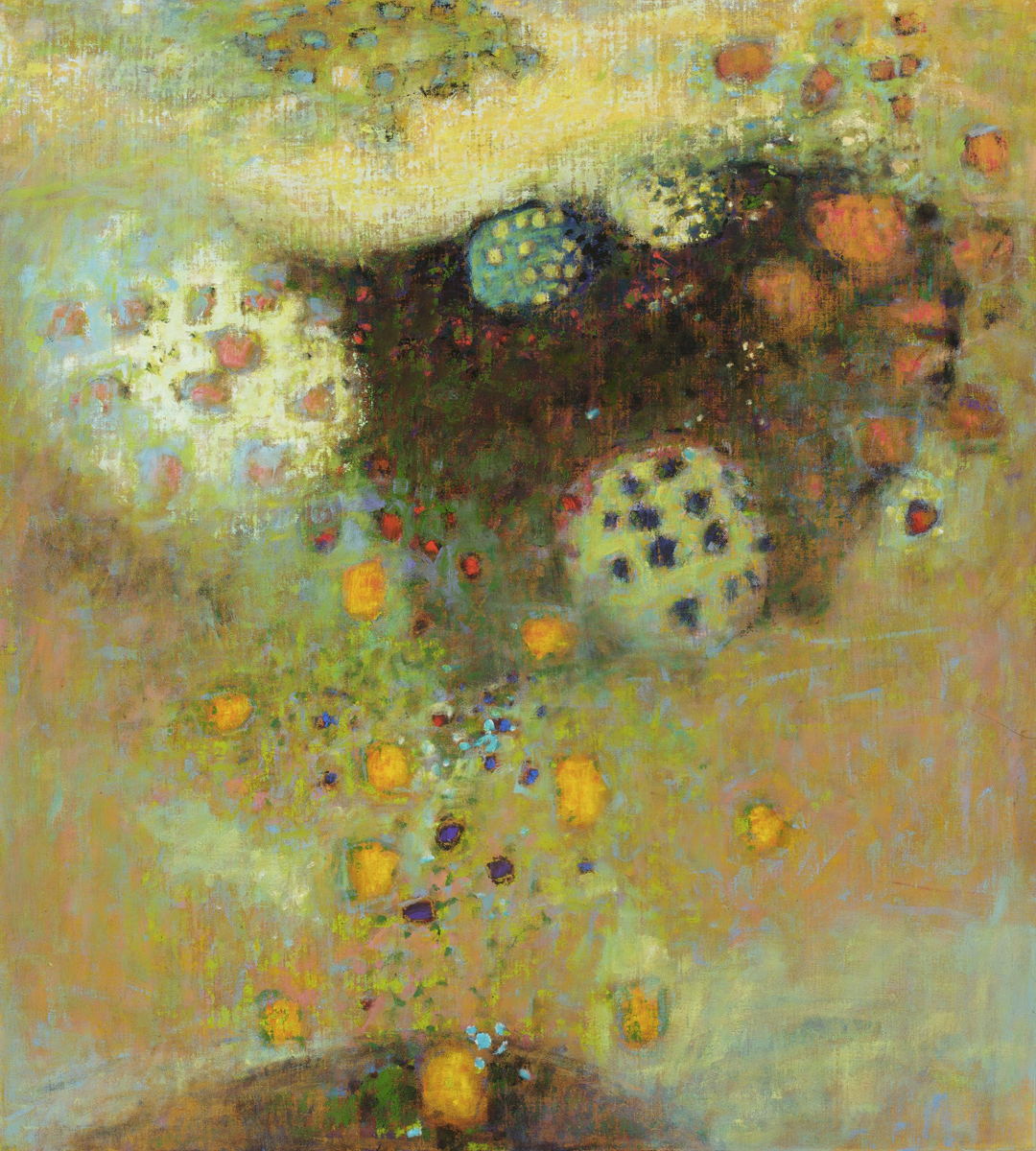 "40-11   From the Matrix   | oil on canvas | 40 x 36""    Rick Stevens website     Rick Stevens facebook page"
