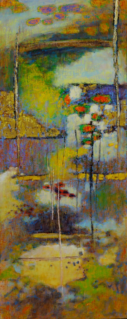 "34-12    Realm of Refraction   | oil on linen | 48 x 20""    more work here"