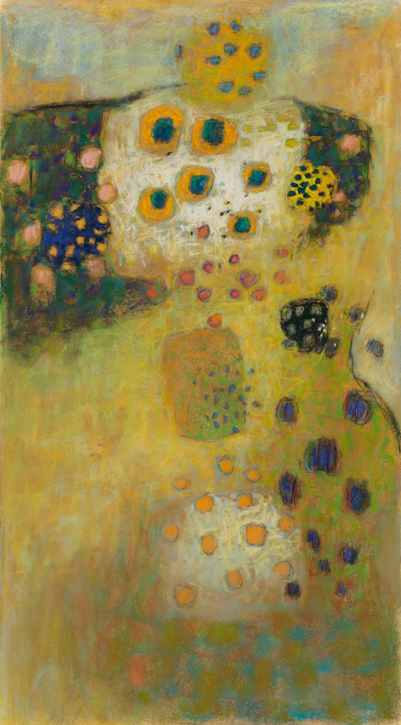 "39-11   Organized Chaos   | pastel on paper | 36 x 20""       Rick Stevens Art"