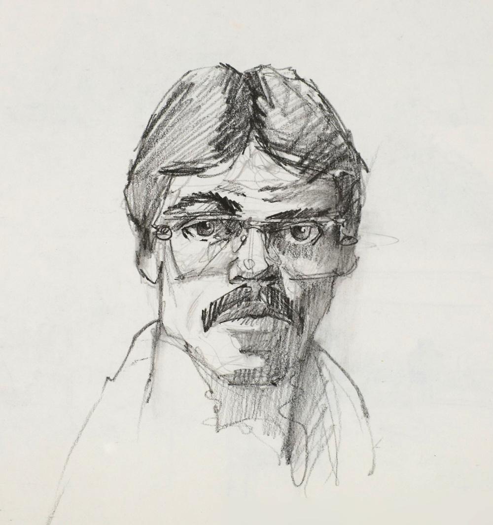 Self Portrait | Graphite on paper | 1979