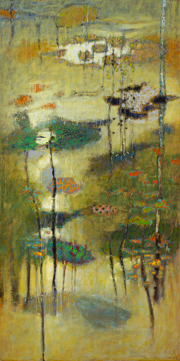 Memories of Wandering   | oil on canvas | 72 x 36"
