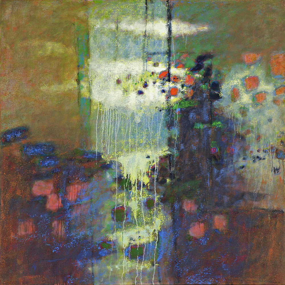 Fragile Balance   | oil on canvas | 48 x 48"