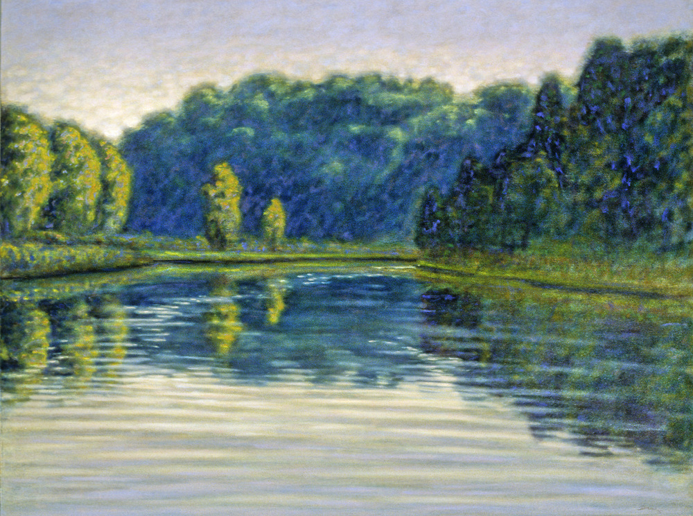 First Light, Big Manistee River   | oil on canvas | 1995