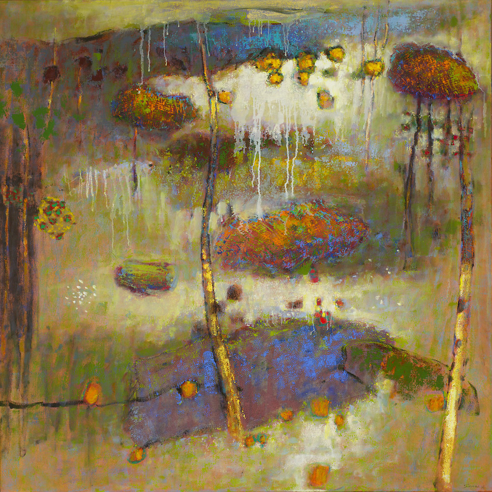 All Is metamorphosis | oil on canvas | 48 x 48"