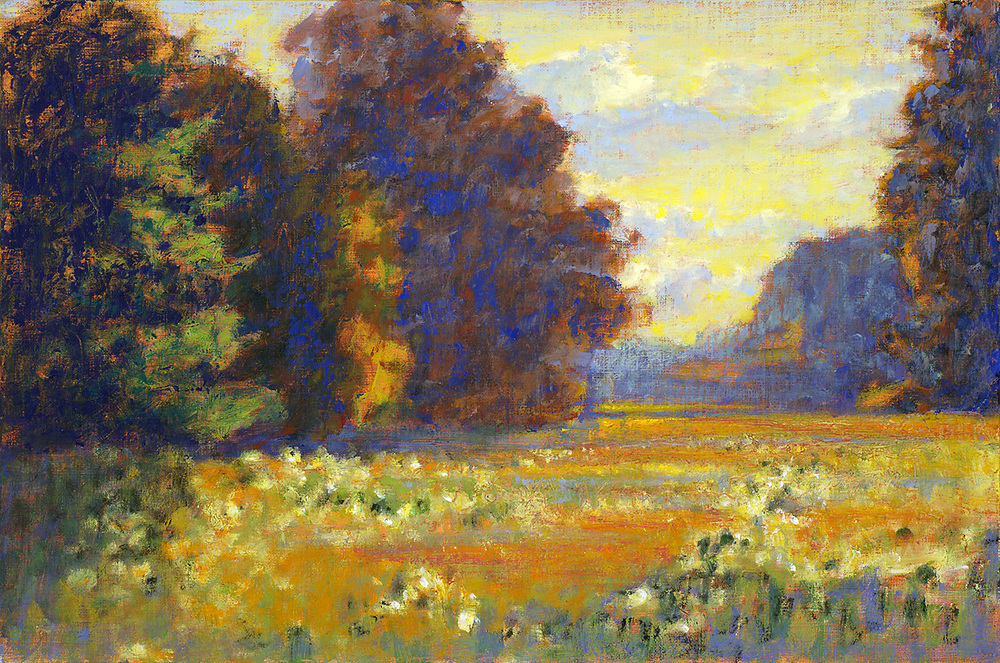 Late Summer Evening   | 12 x 18"