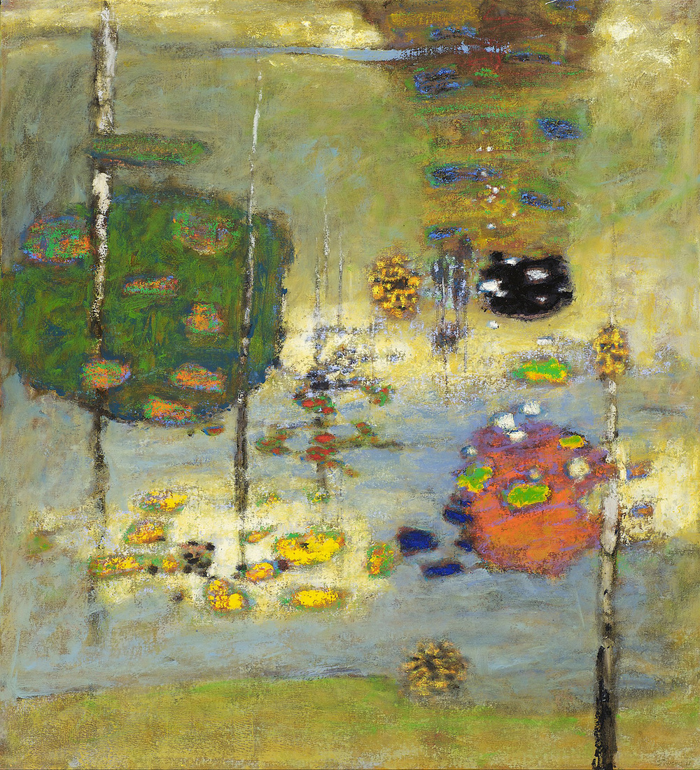 Strange Attractors | oil on canvas | 40 x 36"