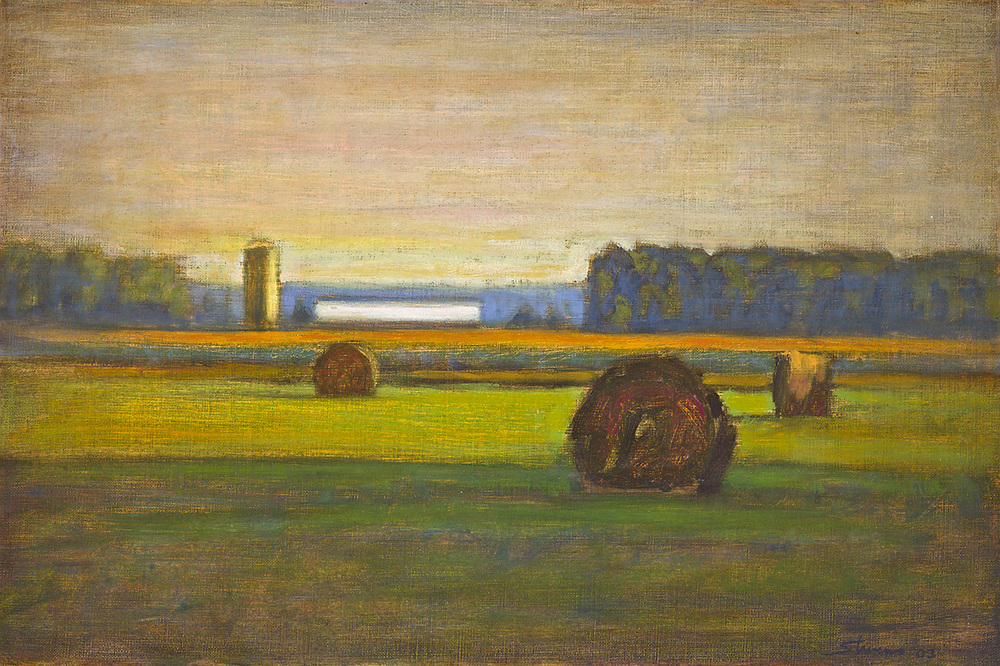 Pastoral Harmony | oil on linen | 12 x 18"