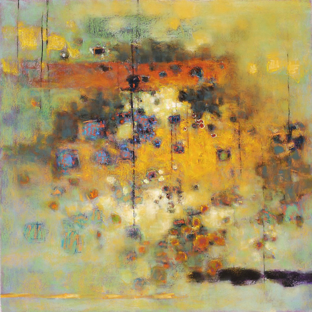 Filtered Light   | pastel on paper | 26 x 26"